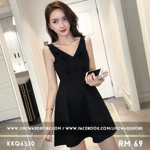 New Sleeveless V-neck Dress