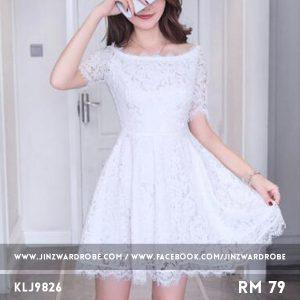 Elegant A-line Lace Dress